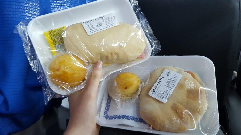 Andesmar Bus Food, Andesmar Bus Meal, Andesmar Semi Cama Seats, Andesmar Semi Bed