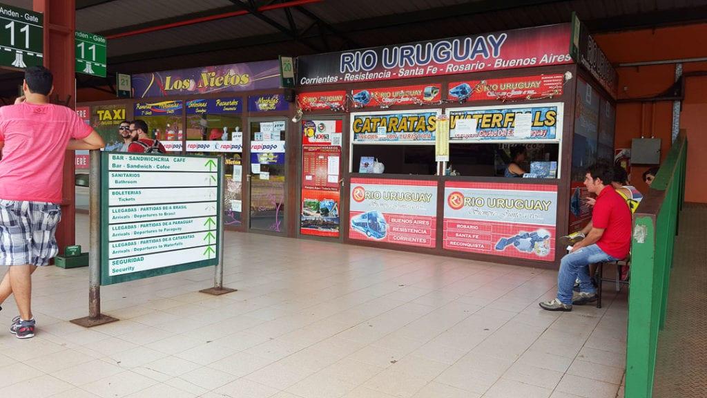 Terminal de Omnibus de Ciduad de Puerto Iguazú