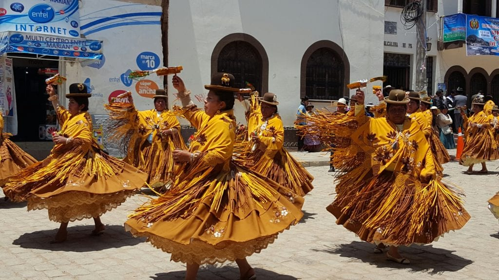 Festival of the Virgen de la Candelaria, Copacabana, Bolivia