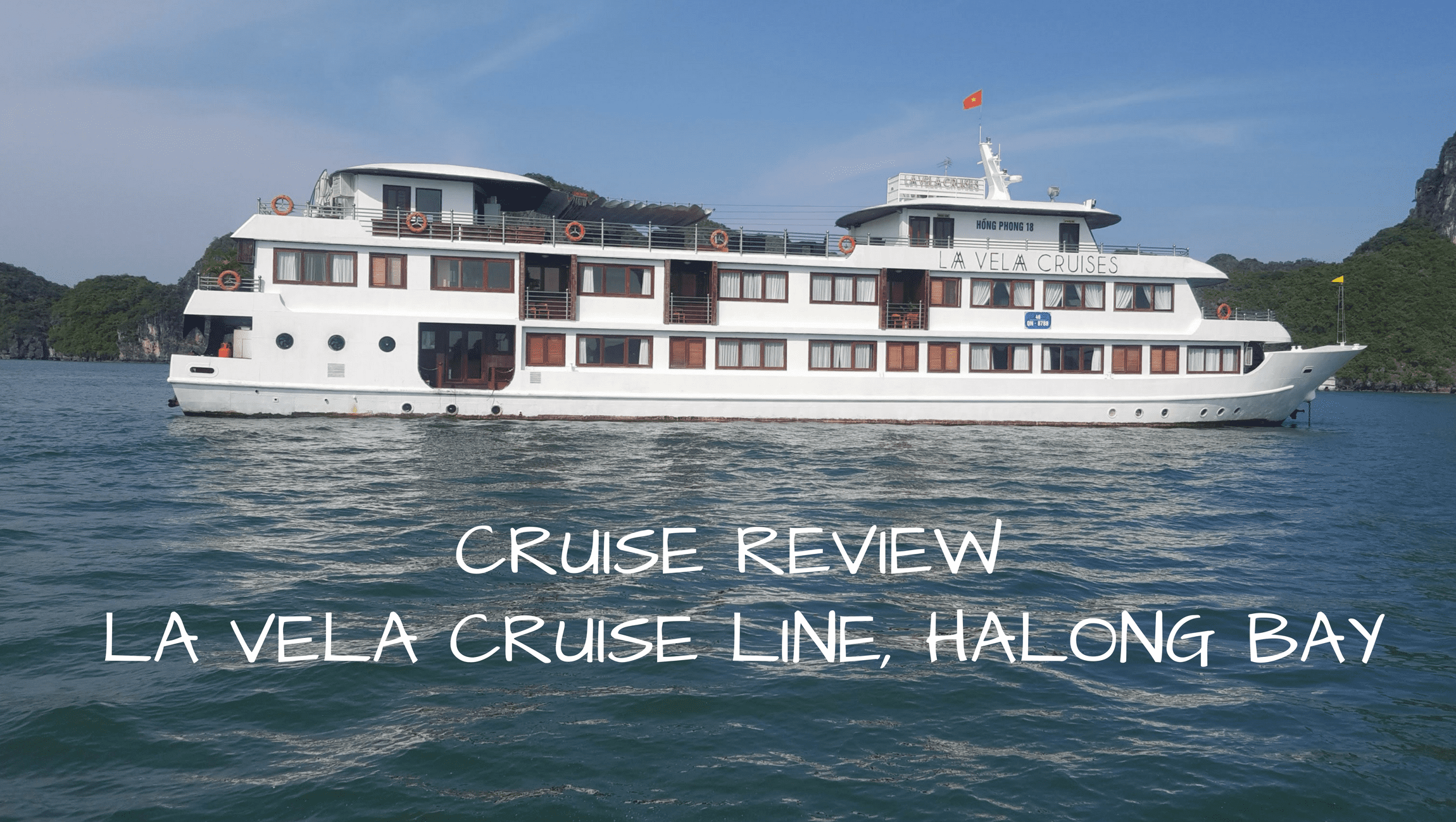Review of La Vela Cruises - Visiting Halong Bay in style - Couple Travel The World