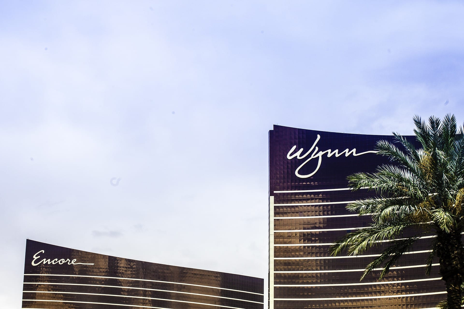 An image of the Wynn Hotel, recommend luxury accommodation on the Las Vegas strip