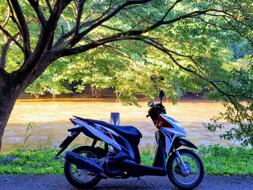 An-image-showing-where-to-rent-a-motorbike-in-Chiang-Mai