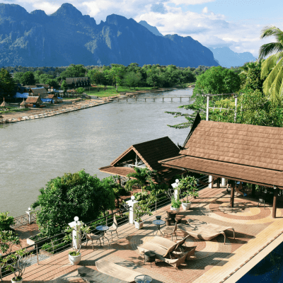 Silver Naga Hotel | Luxury accommodation in Vang Vieng, Laos