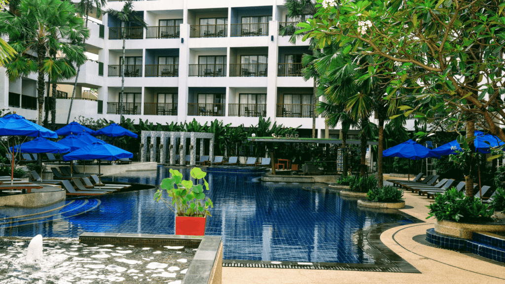 An-image-of-the-pool-at-Deevana-Plaza-the-best-luxury-accommodation-Patong-Beach