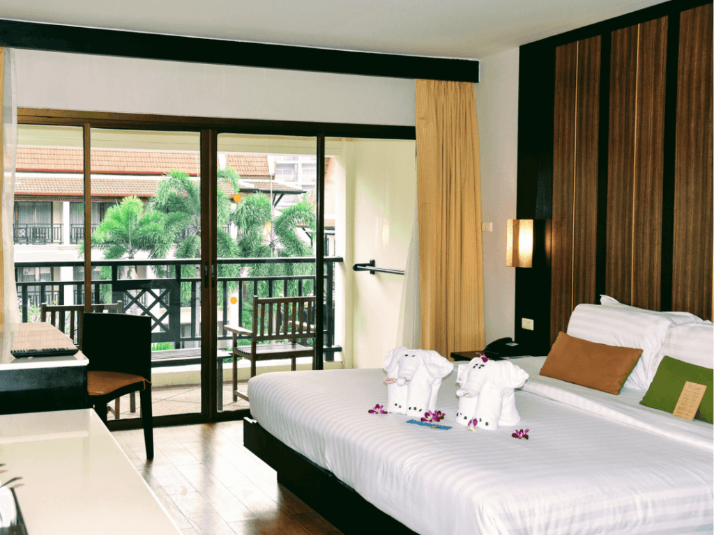 An-image-showing-the-deluxe-pool-view-rooms-at-Deevana-Resort-and-Spa