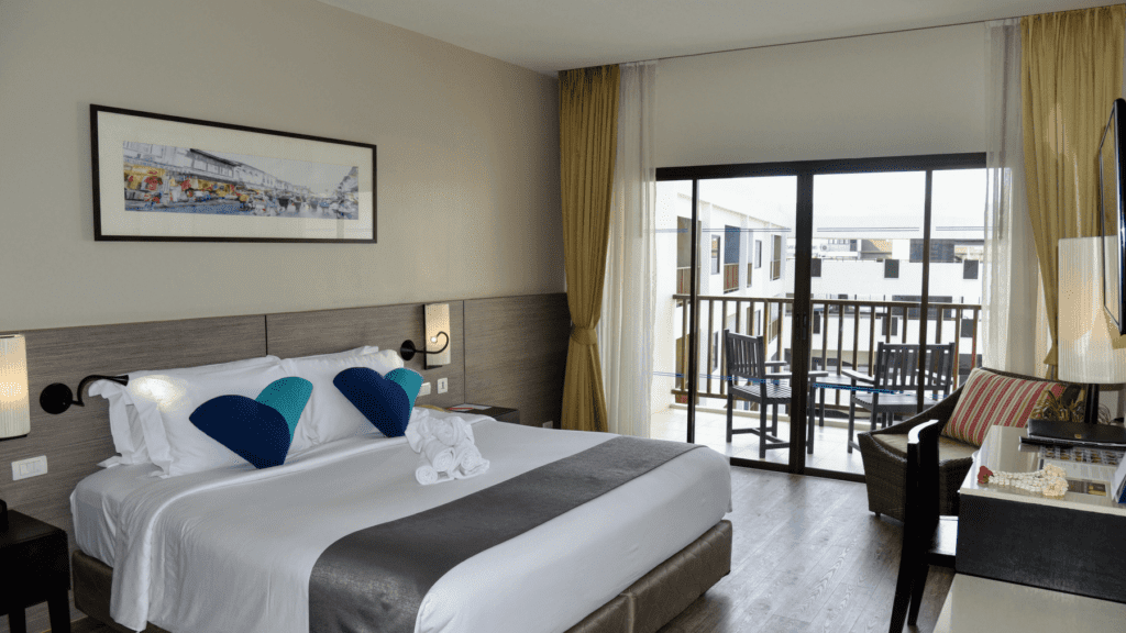 An-image-showing-the-rooms-at-Deevana-Plaza-the-best-luxury-accommodation-in-Patong-Beach