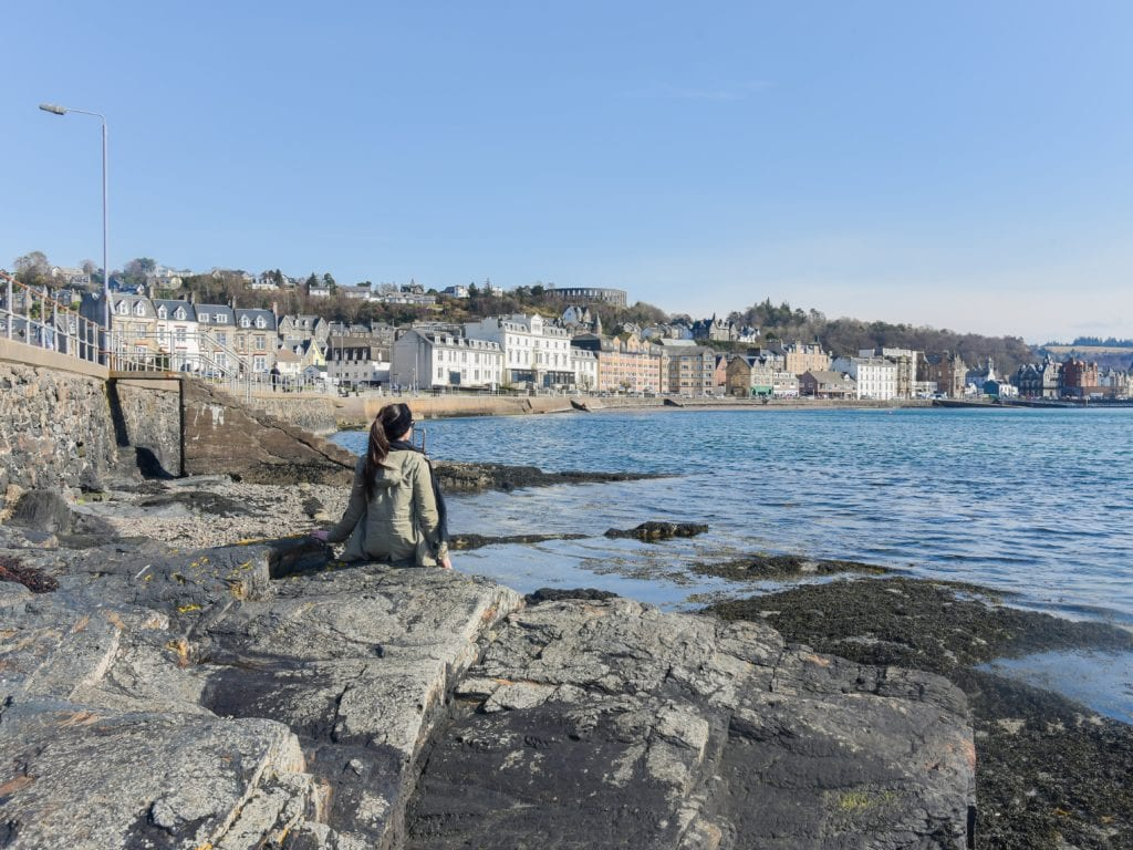 An-image-showing-Oban-beach
