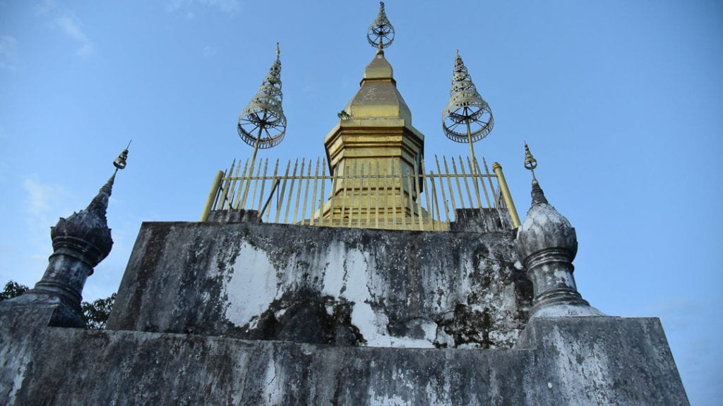 Mt Phousi temple