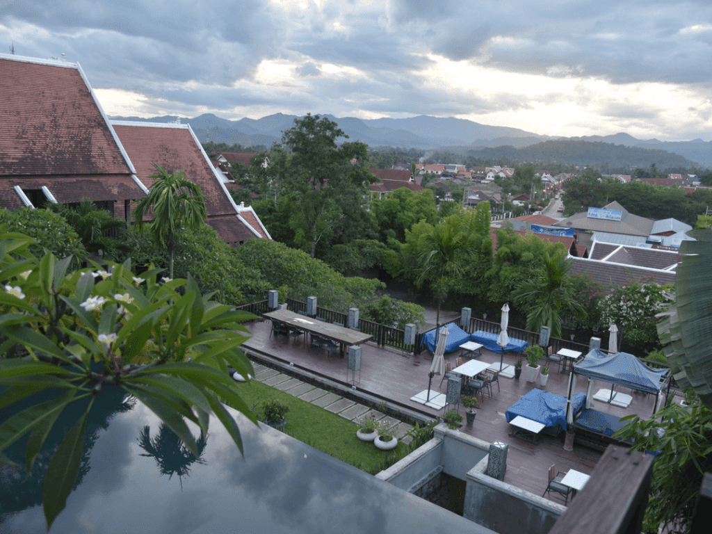 Kiridara-Hotel-Luang-Prabang-view-Incredible-Sunset