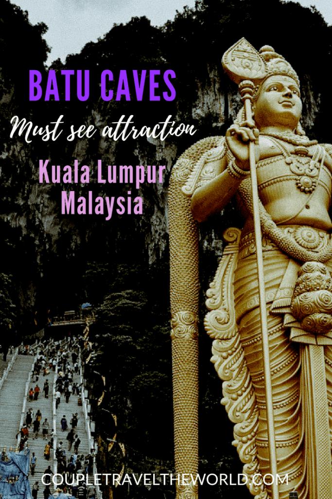 Batu Caves - Must see attraction Kuala Lumpur Malaysia