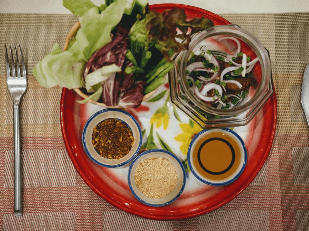 Deevana Patong Resort & Spa Traditional Salad