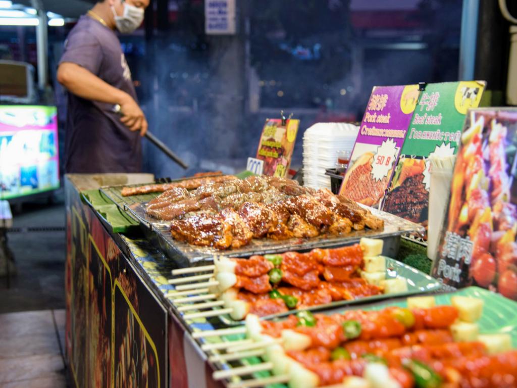 Thai Food Markets Patong Beach