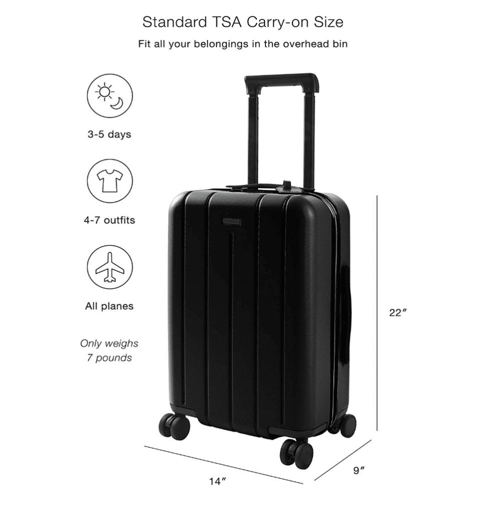 Travel bag review