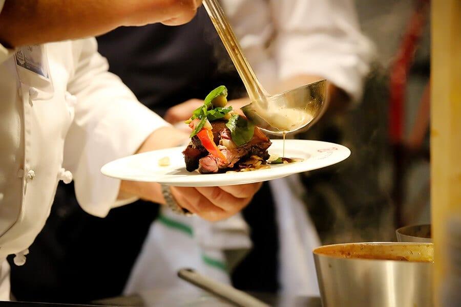 Norsk Hostfest dining