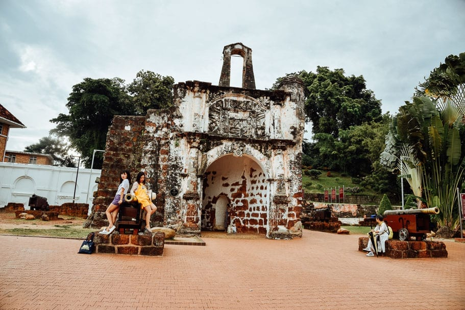 Things to do in Malacca - A Famosa
