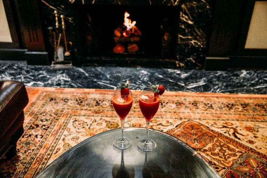 Strawberry Mocktail Cameron Highlands