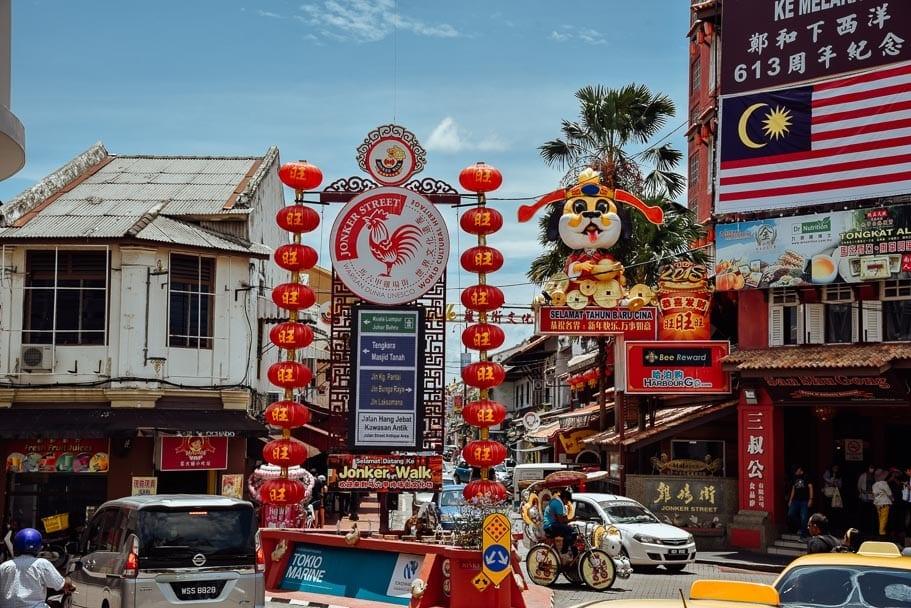 Jonker Street Things to do in Melaka