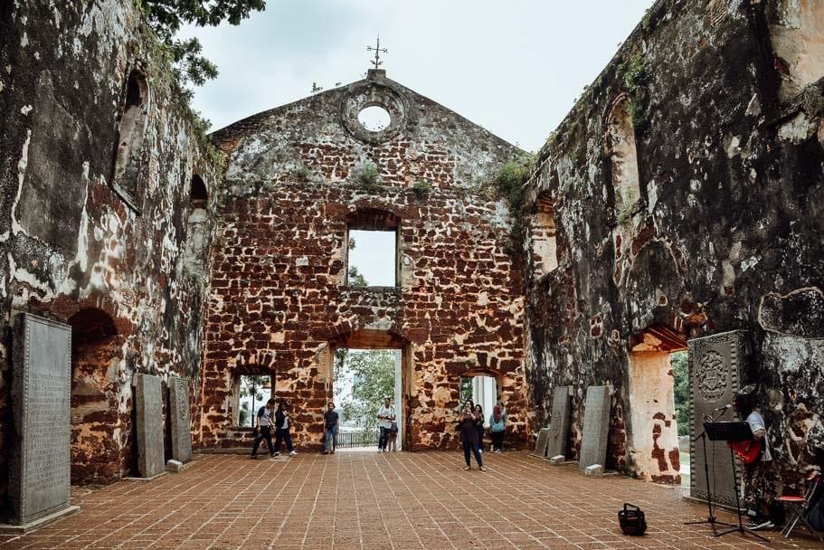 St Pauls Church Melaka