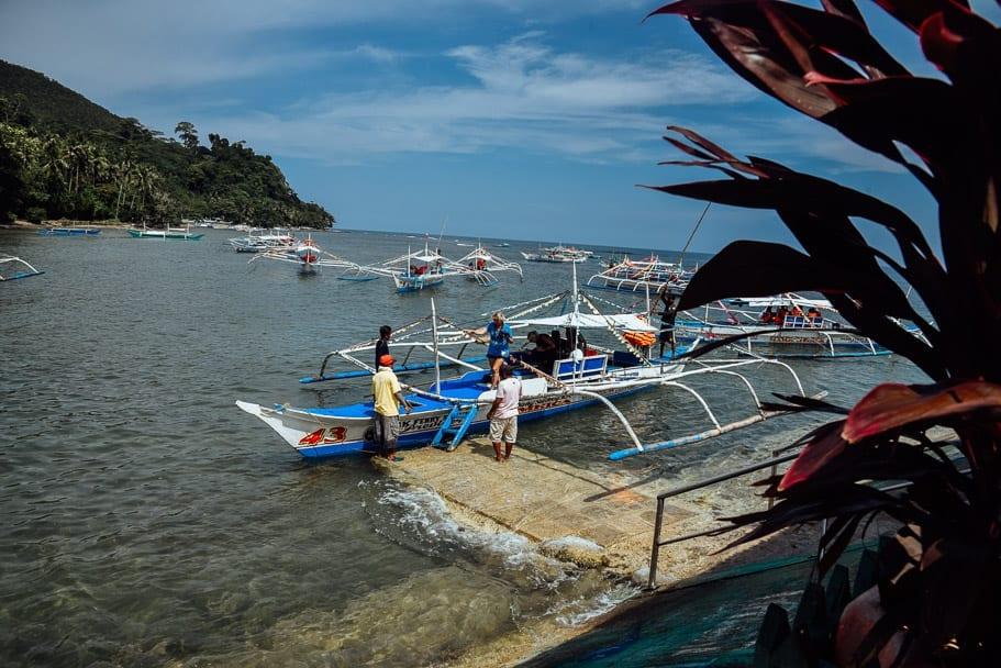 Underground River Palawan Boat