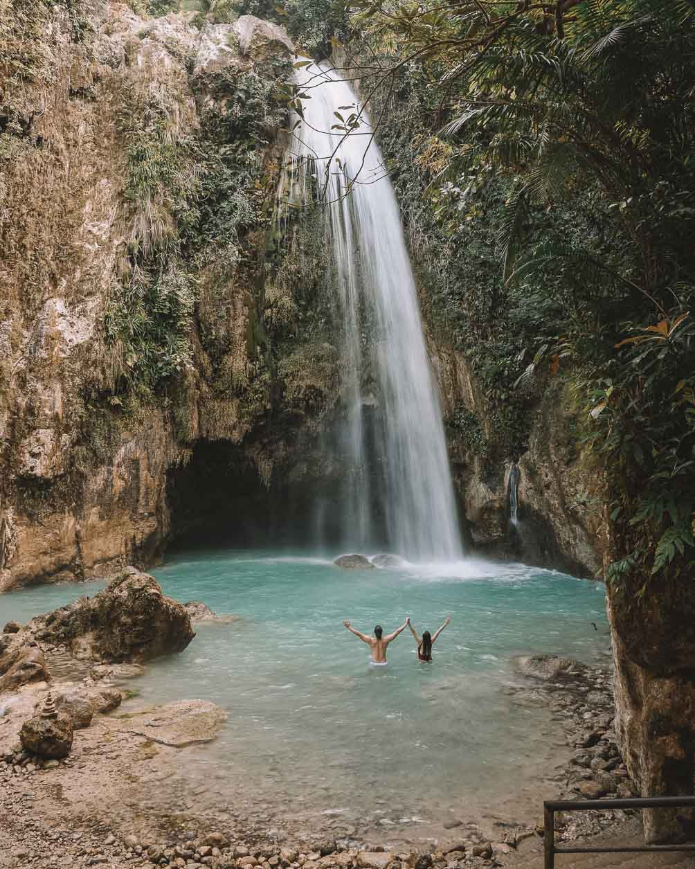 places to visit in Philippines for couples Cebu Waterfalls