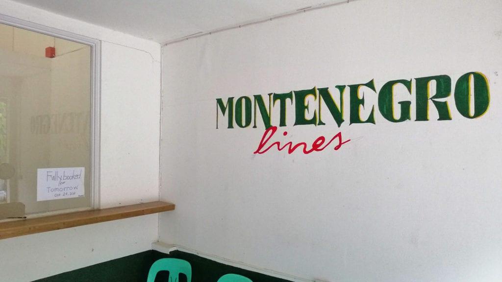 Montenegro Lines Coron
