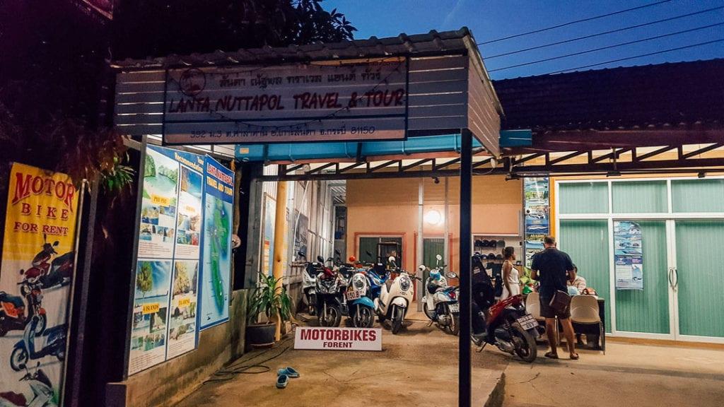 Where to Rent a Motorbike Koh Lanta