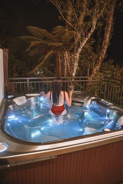 Rainforest-retreat-franz-josef, franz-josef-hotel-with-spa, rainforest-retreat-review, franz-josef-instagram, where-to-stay-franz-josef, family-villa-franz-josef, franz-josef-hotel, south-island-road-trip-itinerary, 2-week-new-zealand-itinerary, 7-day-south-island-itinerary