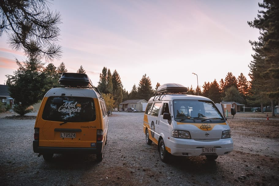 Lake-Ruataniwha-Holiday-Park, Mad-Camperz, best-holiday-park-near-lake-tekapo-mt-cook, nz-road-trip, south-island-camper-van-roadtrip