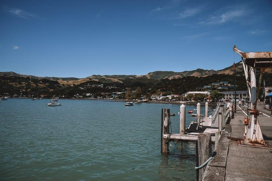 Akaroa, Akaroa-New-Zealand, Akaroa-Christchurch, Christchurch-day-trip, south-island-road-trip-itinerary, 2-week-new-zealand-itinerary, 7-day-south-island-itinerary