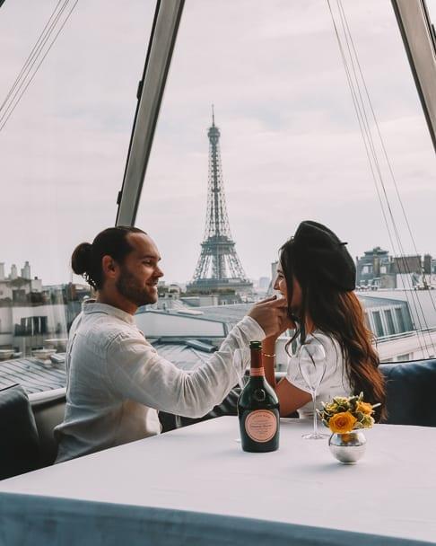 best lunch paris, where to have lunch paris, most instagrammable paris, romantic spots paris