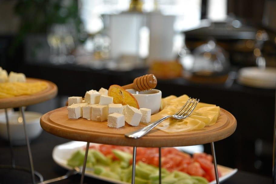 Astoria Hotel breakfast