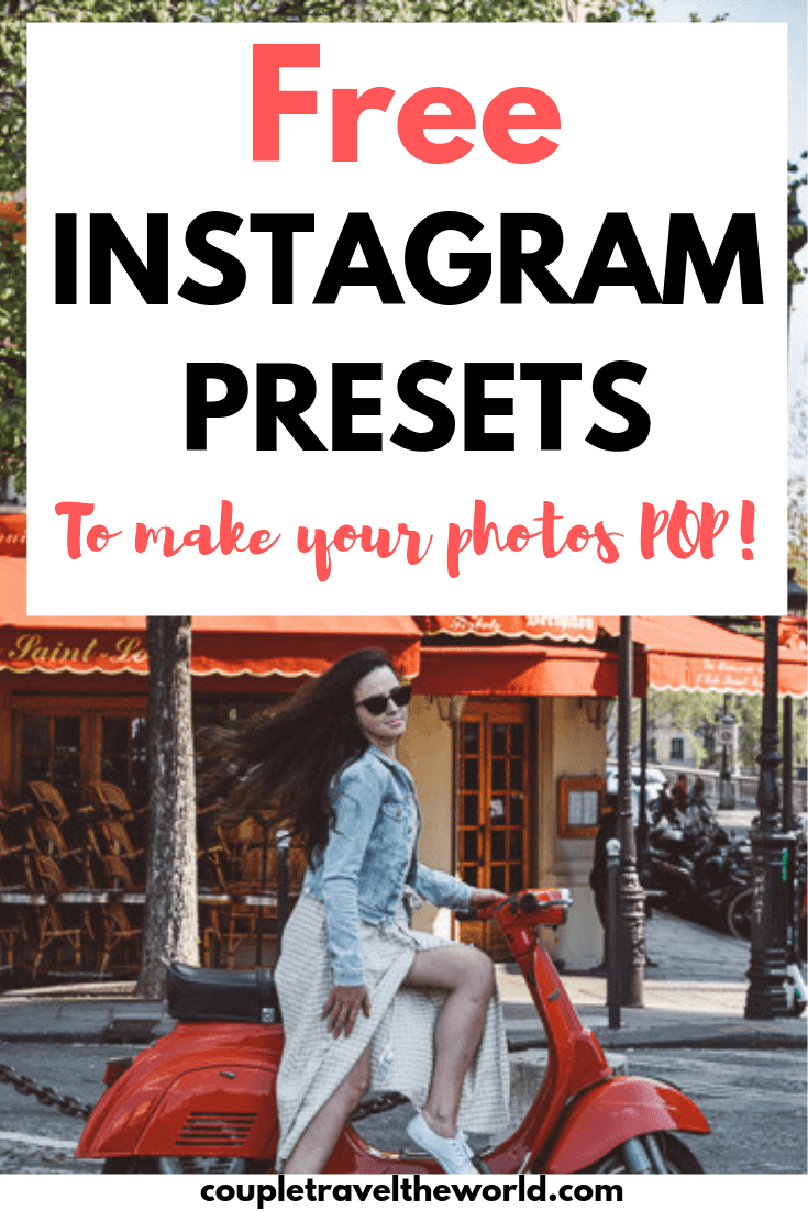 FREE Instagram Presets (Including FREE Mobile Lightroom Presets)