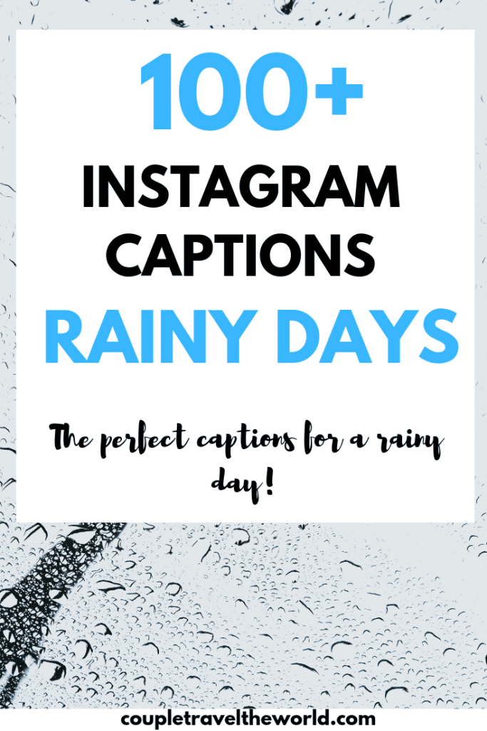 rainy day quotes perfect instagram captions for a cold