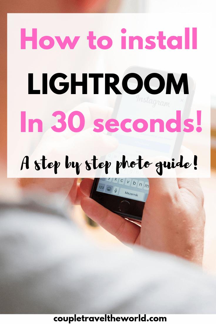 install-lightroom-presets