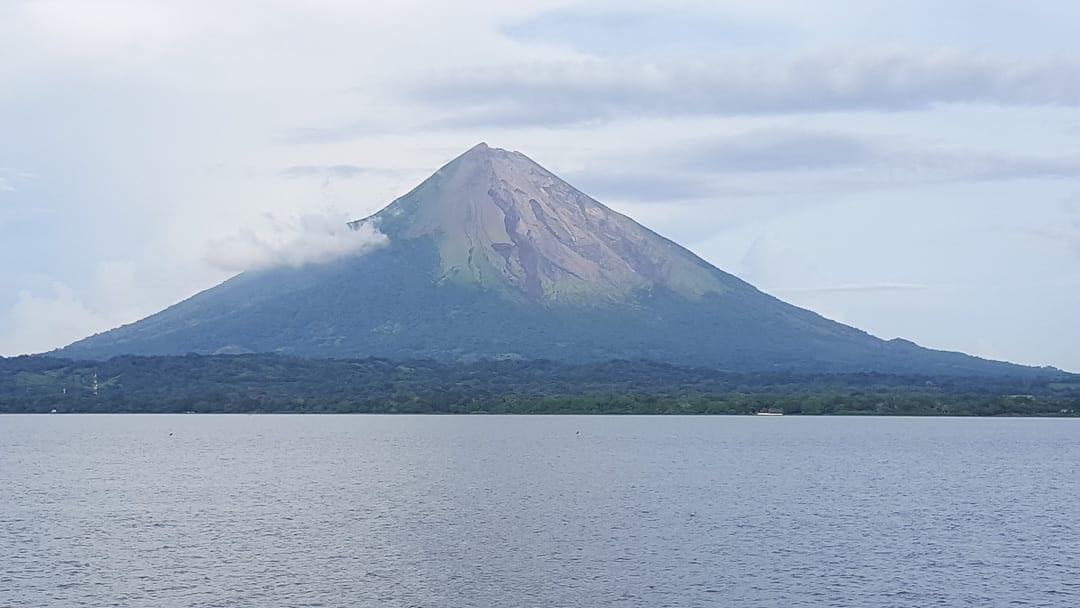 Isla-de-Ometepe-volcano-from-Ometepe-Ferry