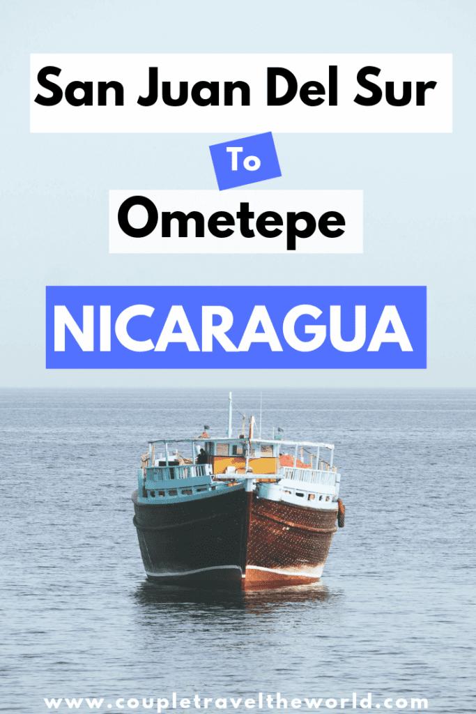 San Juan del sur to ometepe nicaragua