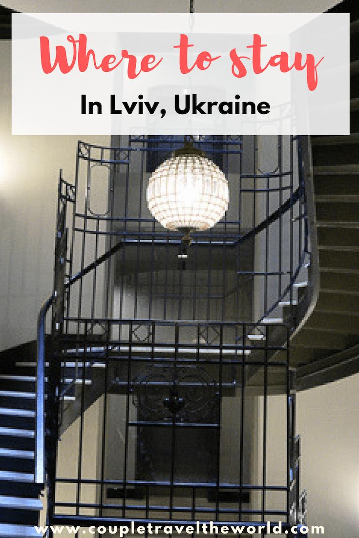 Where to stay in Lviv Ukraine
