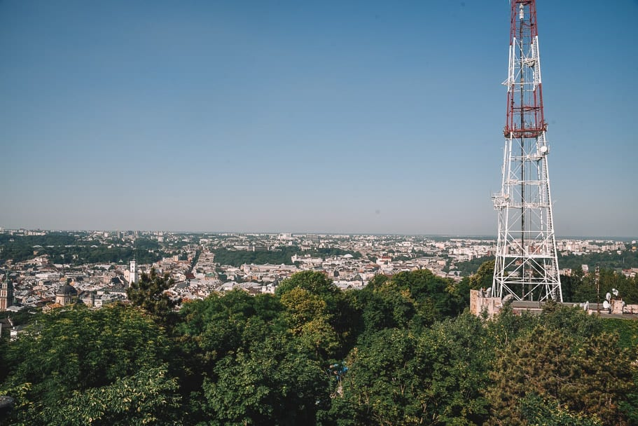 Lviv-Castle-Hill-view