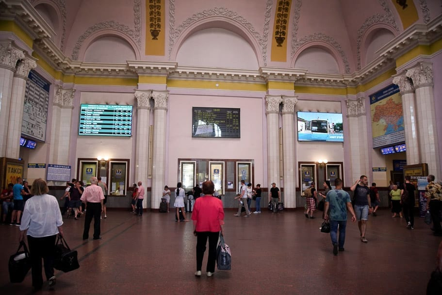 Lviv-Train-station-tickets-Rivne-tunnel-of-love