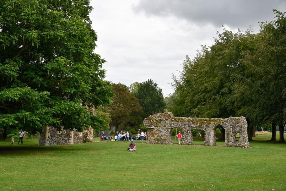 Abbey Gardens Ruins