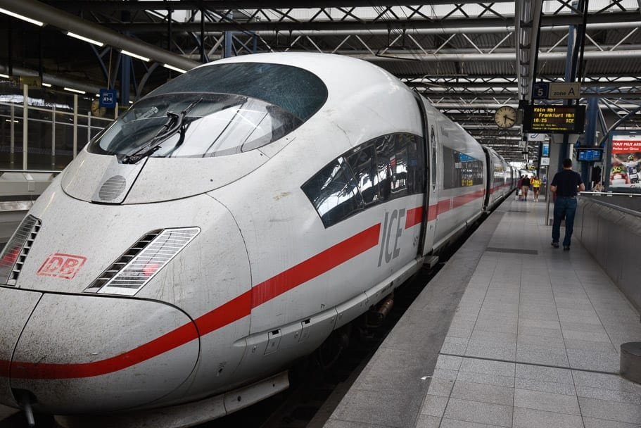 Brussels to Frankfurt Train   Cost & How to Get There with Eurail