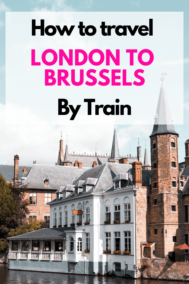 #Brussels from #London the perfect getaway made even better by travelling by train. Seriously, you will never fly instead after experiencing the Eurostar train. In the middle of Brussels before we\'d leave the tarmac usually