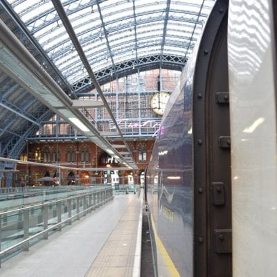 London to Brussels by train (Eurail Review!)