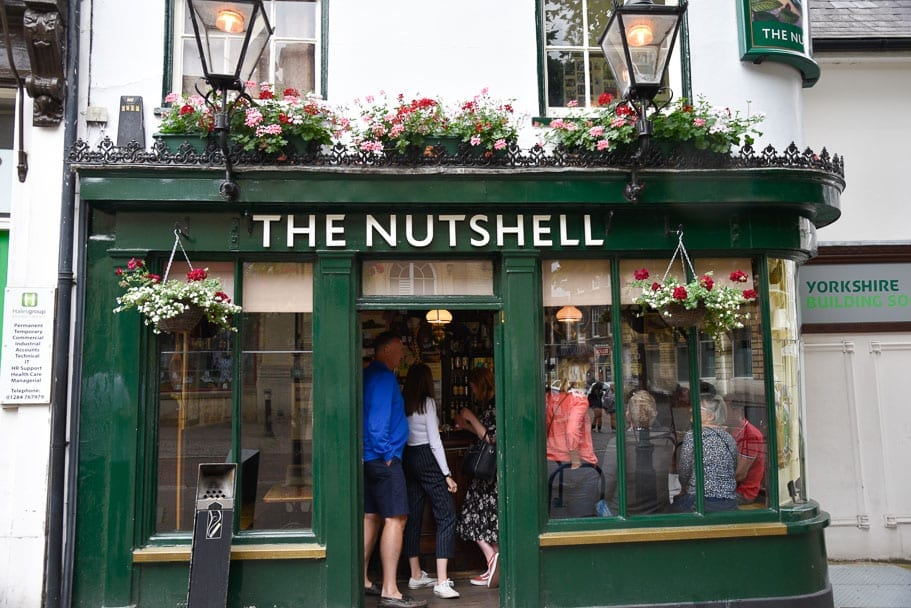 Smallest pub in England (The Nutshell in Bury St Edmunds)