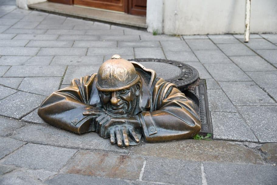 Čumil-The-Sewer-Man!