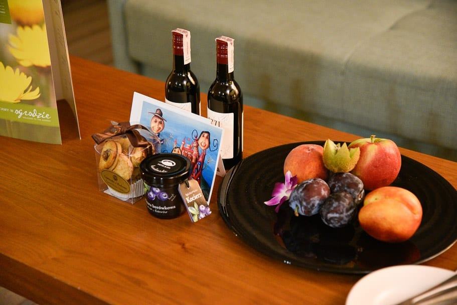 Hilton-Garden-Inn-Krakow-rooms-welcome-gift