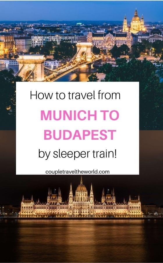 Munich-Budapest-Sleeper-train,Munich-Budapest-train