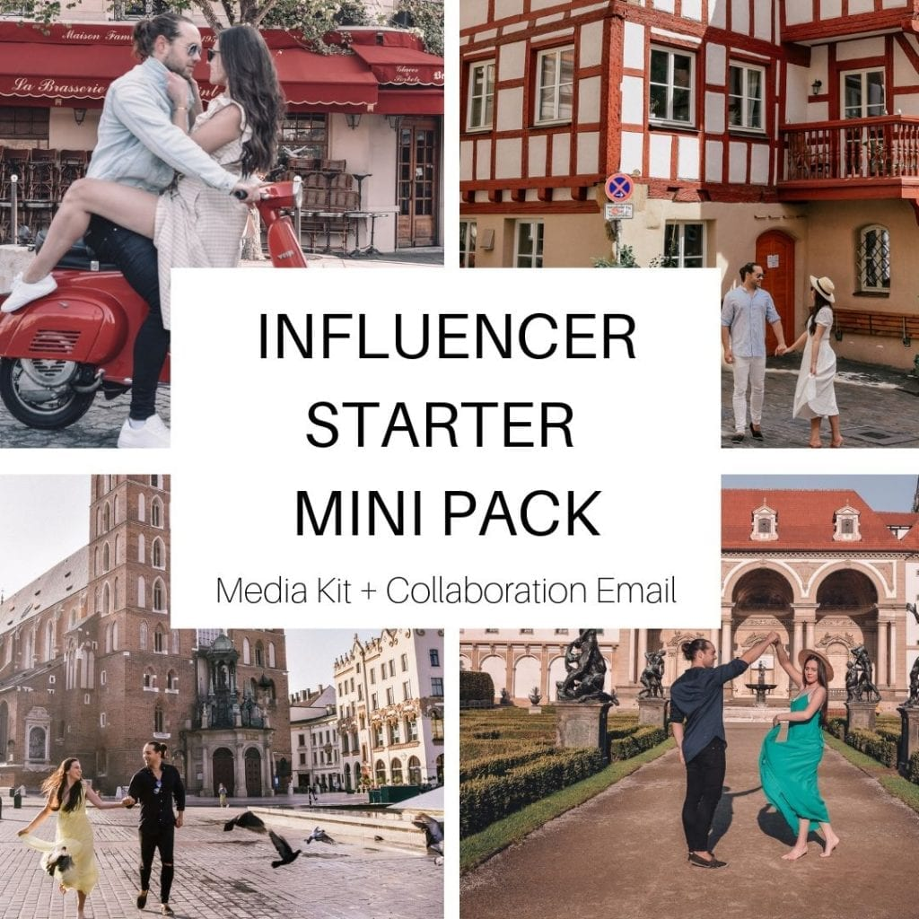 Influencer Media Kit & Collaboration Pitch Email Templates