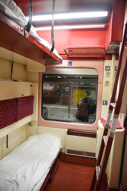 Munich-Budapest-sleeper-cabin