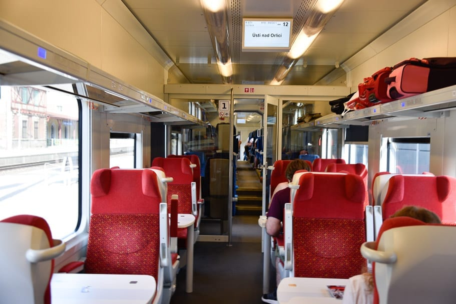 First-Class-Seats-Prague-Wroclaw-train